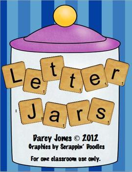 Letter Jars