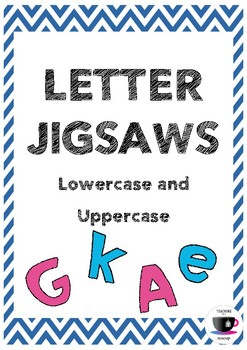 Letter Jigsaws - Lowercase and Uppercase Letters