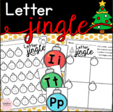 Letter Jingle! Christmas Alphabet Literacy Center (FRENCH