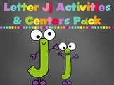Letter Jj Activities Pack (CCSS)