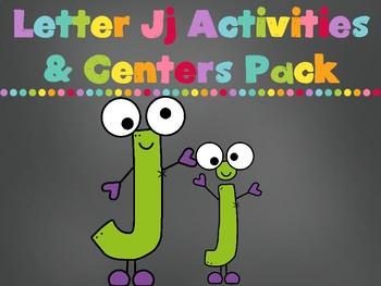 Letter Jj Activities Pack (CCSS)