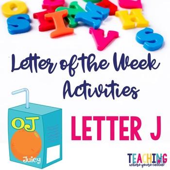 Letter Jj Activity Pack