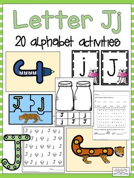 Letter Jj Alphabet Activities (Games, Printables, and Craftivities)