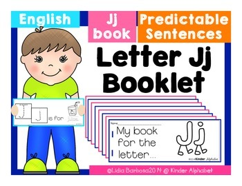 Letter Jj Booklet- Predictable Sentences