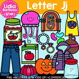 Letter Jj Digital Clipart