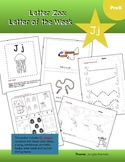 Letter Jj (J is for Jungle): Letter Zoo- Preschool Curriculum