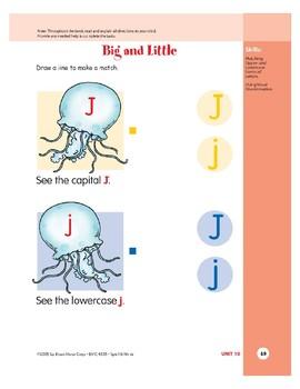 Letter Jj (Jellyfish)