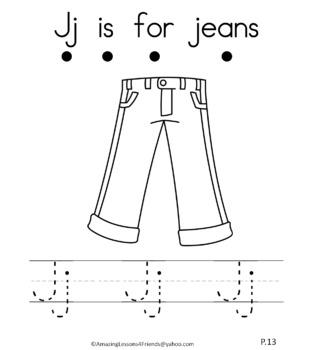 Letter Jj Journal