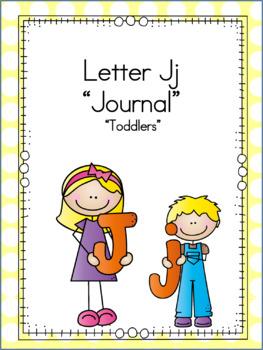Letter Jj Journal for Toddlers