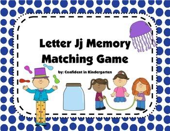 Letter Jj Memory Game