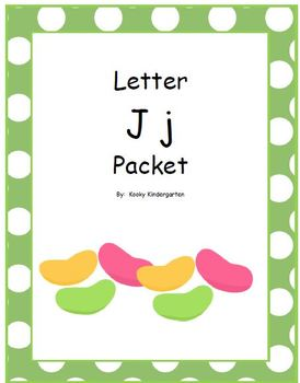 Letter Jj Phonics and Writing Pack
