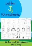 Letter Jj Worksheets Coloring Tracing Phonics Alphabet Dab letter Find letter