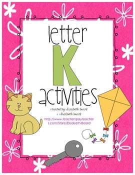 Letter K Activities