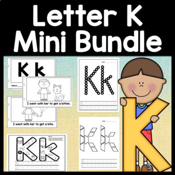 Letter k activities letter k book and 5 letter k worksheets tpt letter k activities letter k book and 5 letter k worksheets spiritdancerdesigns