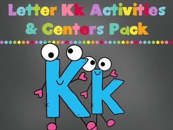 Letter Kk Activities Pack (CCSS)