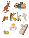 Letter K Activity Packet