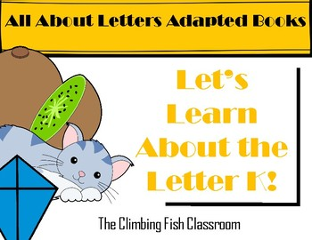 Letter 'K' Adapted Book