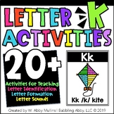 Letter K Alphabet Activities | Letter Recognition, Formation, and Sounds