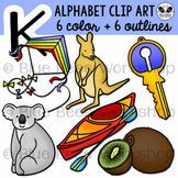 Letter K Clip Art Alphabet / Beginning Sound K