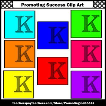 Letter K Clipart, Alphabet Clip Art, Letter Sounds SPS