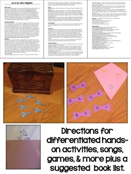 Letter K Unit - Differentiated Letter Writing Pages & Activities
