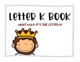 Letter K Book: Handwriting Practice