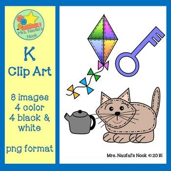 Letter K Alphabet Clip Art