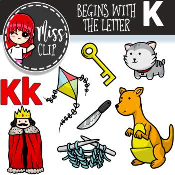 Letter K Clip Art Bundle {Miss Clip} Alphabet Commercial Use