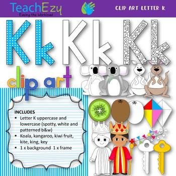 Letter K Clip Art Pack