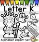 Alphabet Clip Art: Letter K Phonics Clipart Set - Clip Art