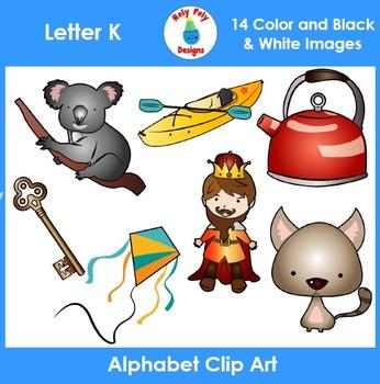 Letter K Clip Art Set