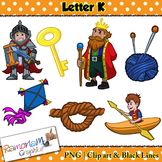 Letter K Clip art