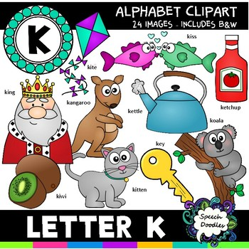 Letter K Clipart - 20 images! - For Personal and Commercial Use
