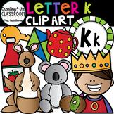 Letter K Clipart {Alphabet Clip art}