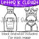 Letter K Clipart - Beginning Sound Clip Art {Jen Hart Clipart}