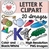 Letter K Alphabet Clipart by Clipart That Cares