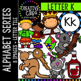 Letter K {Creative Clips Digital Clipart}