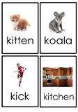 Letter K Flashcards
