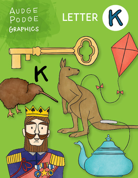 Letter K Graphics