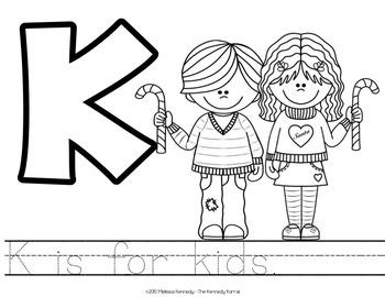 Christmas - Letter K is for Kids