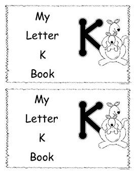 Letter K Little Reader/Book