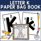 Letter K Paper Bag Book