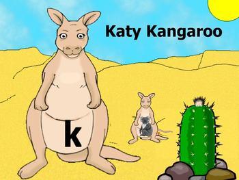 Letter K Picture Sort