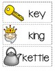 Letter K ~ Picture Word Cards