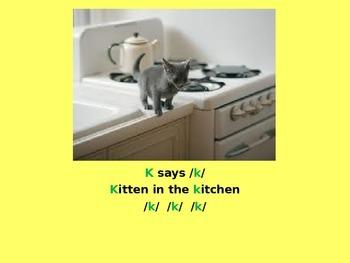 Letter K PowerPoint