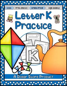 Letter K Practice Printables
