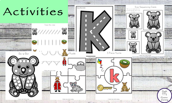 Letter K Printable Pack