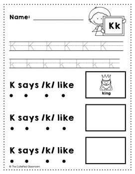 Letter K Review