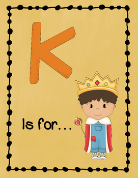 Letter K Story and Writing Practice
