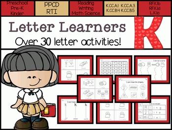 Letter Learners: Letter K